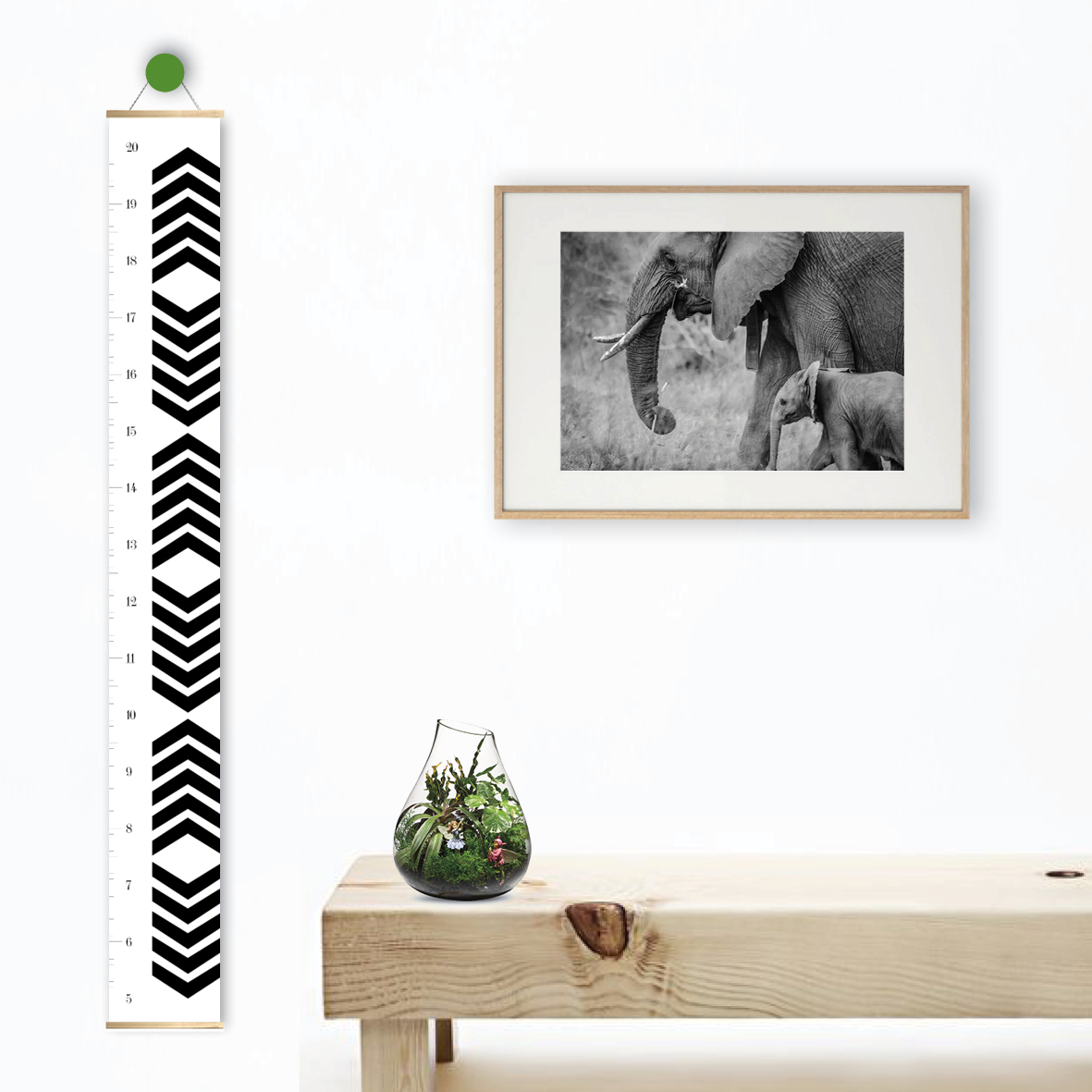 Tribal arrows chevron height growth chart quick view geenschuldenfo Image collections