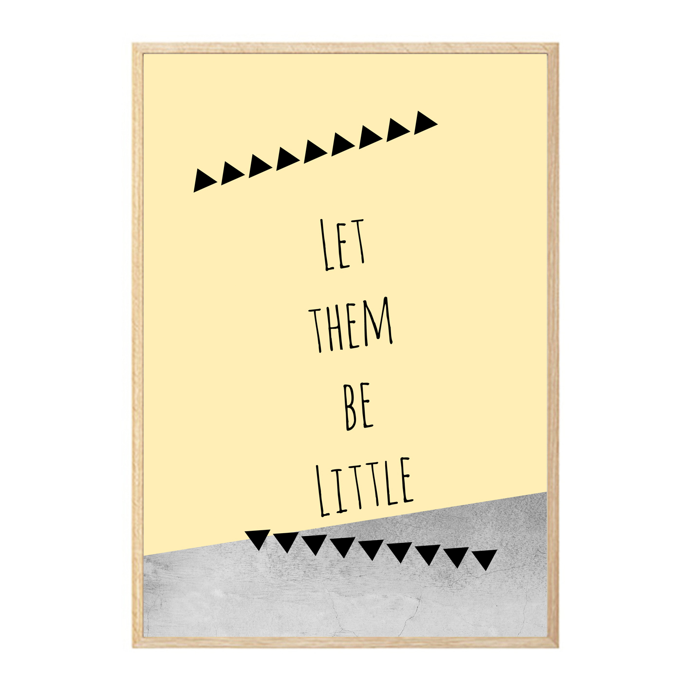 let them be little wall art print