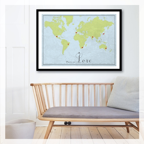PLACES WE LOVE - traditional map