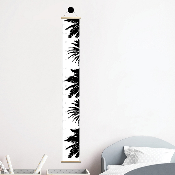 HEIGHT CHART - palm trees