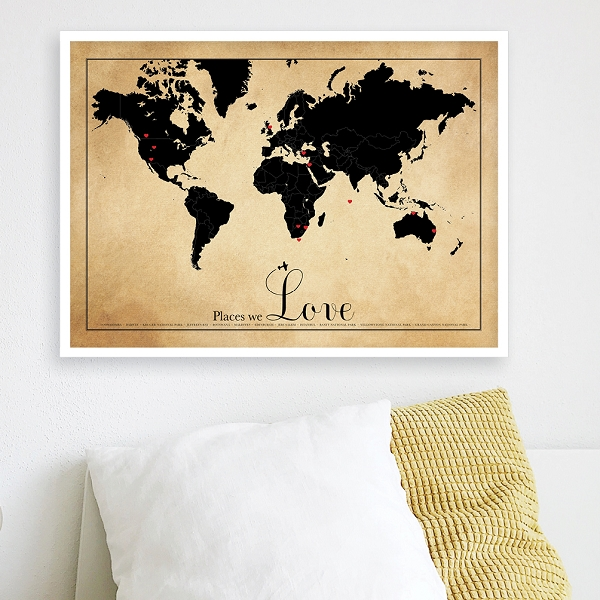 PLACES WE LOVE - tea stained