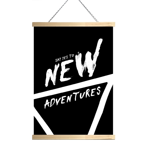 NEW ADVENTURES - Canvas
