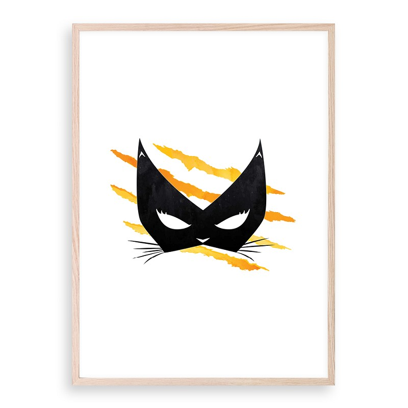 CATWOMAN - yellow/orange