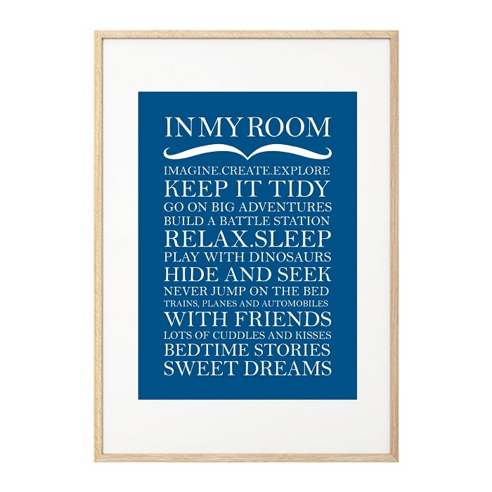 IN MY ROOM - melody blue