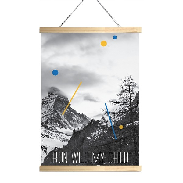RUN WILD MY CHILD - Canvas